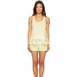 NWT Kate Spade lemon pajama set